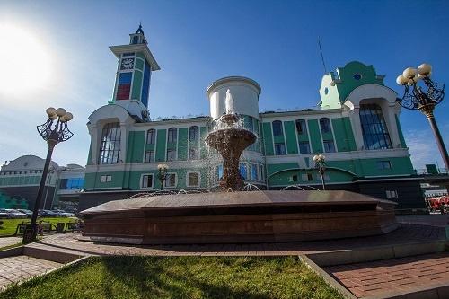 ЖД вокзал в Новосибирске