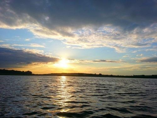 Краснооскольское водохранилище, рыбалка