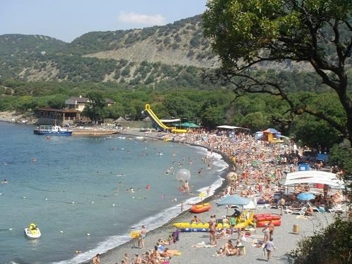 Пляж Большой Утриш в Анапе