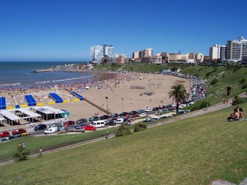 Пляж в Аргентине