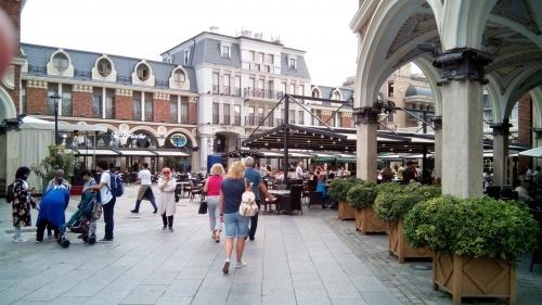 Площадь Пьяцца в старой части