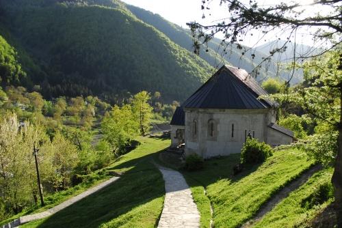 Монастырь Схалта в Хуло