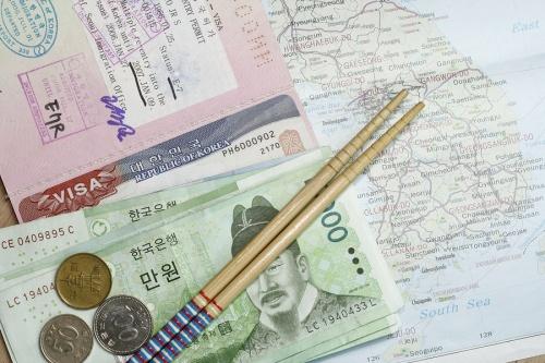 Оплата визы в Корею
