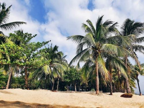 Пляж в Хайнане