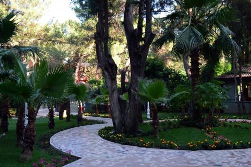 Дворик отеля Armas Kaplan Paradise 5