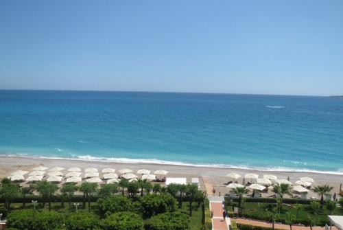 Вид с номера отеля Amara Dolce Vita Luxury 5