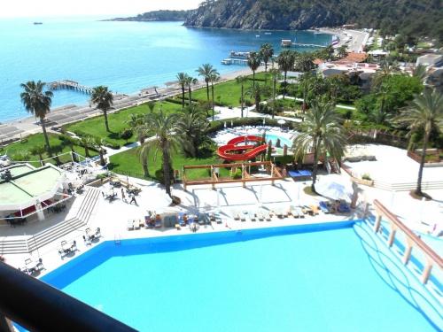 Вид из номера отеля Elize Resort 5