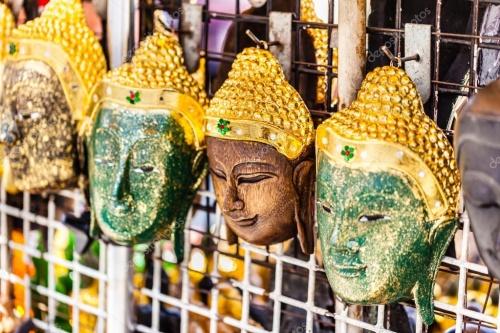 Маски Будды