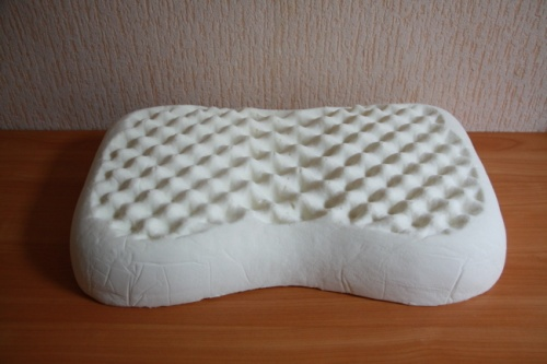 Ортопедическая подушка из натурального латекса