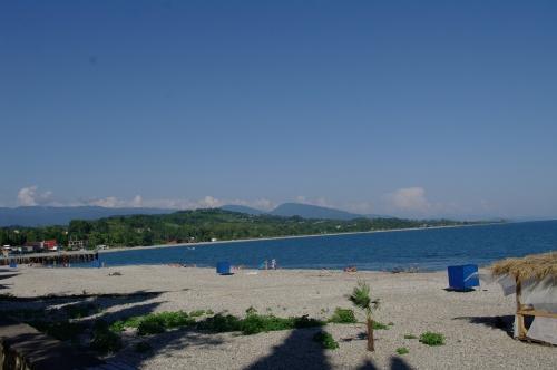 Пляж Гудаута