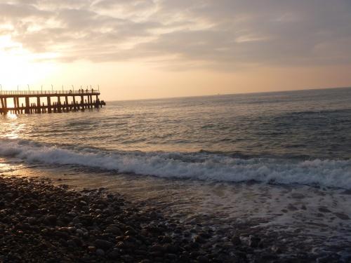 Осеннее море Батуми