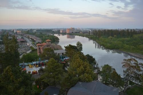 Вид на город Поти