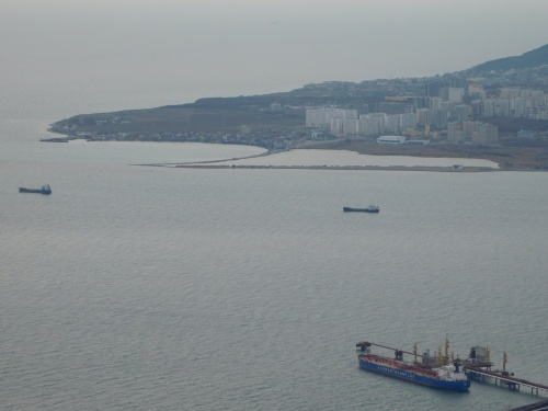 Вид на Кабардинку с высоты птичьего полета