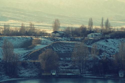 Иссык-куль зимой