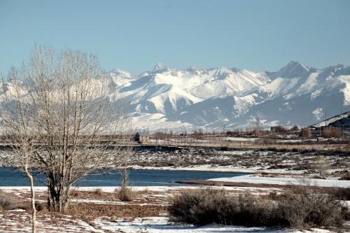 Зима в 2014 года на озере